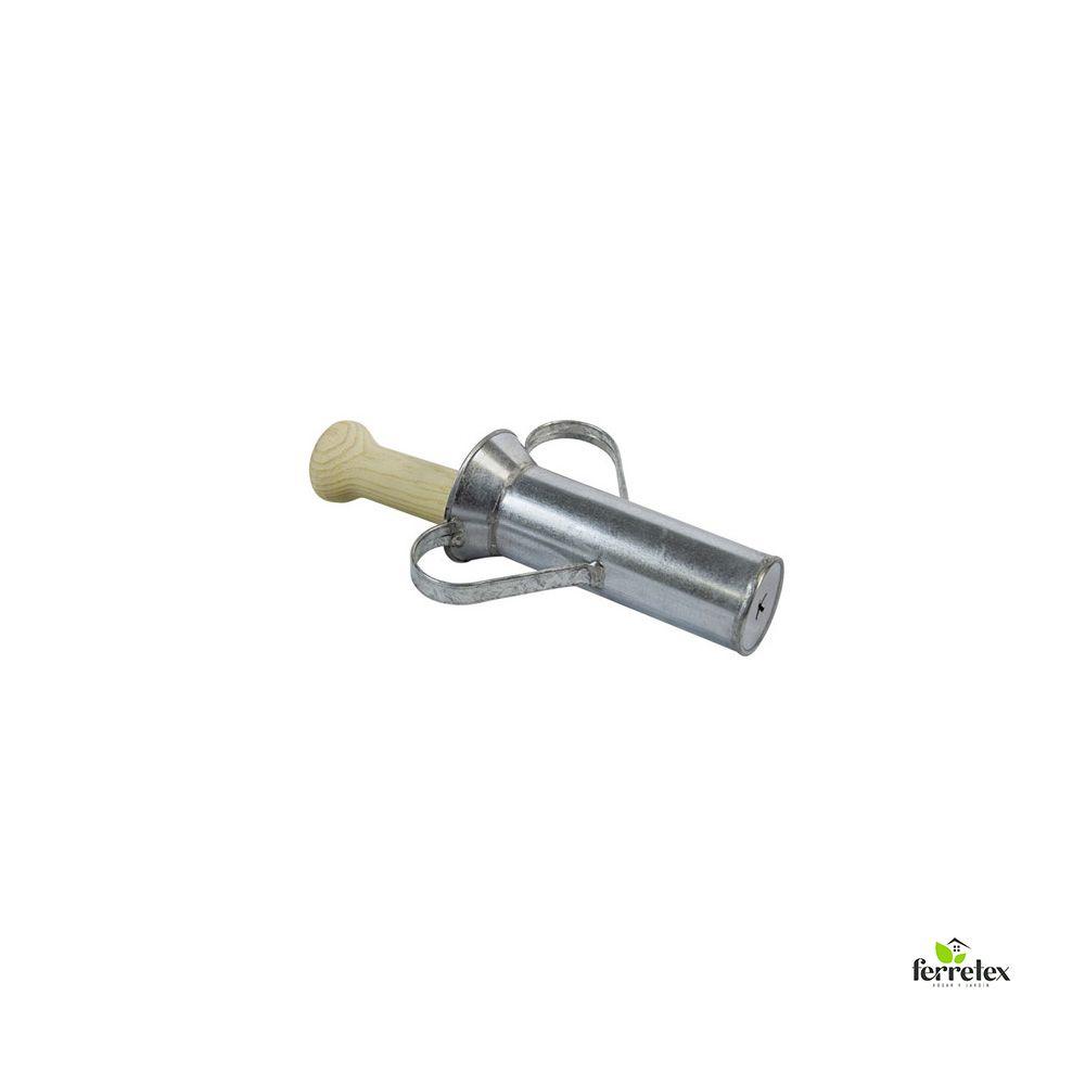 Churrera Galvanizada 195 mm. sin boquilla ref. 13620