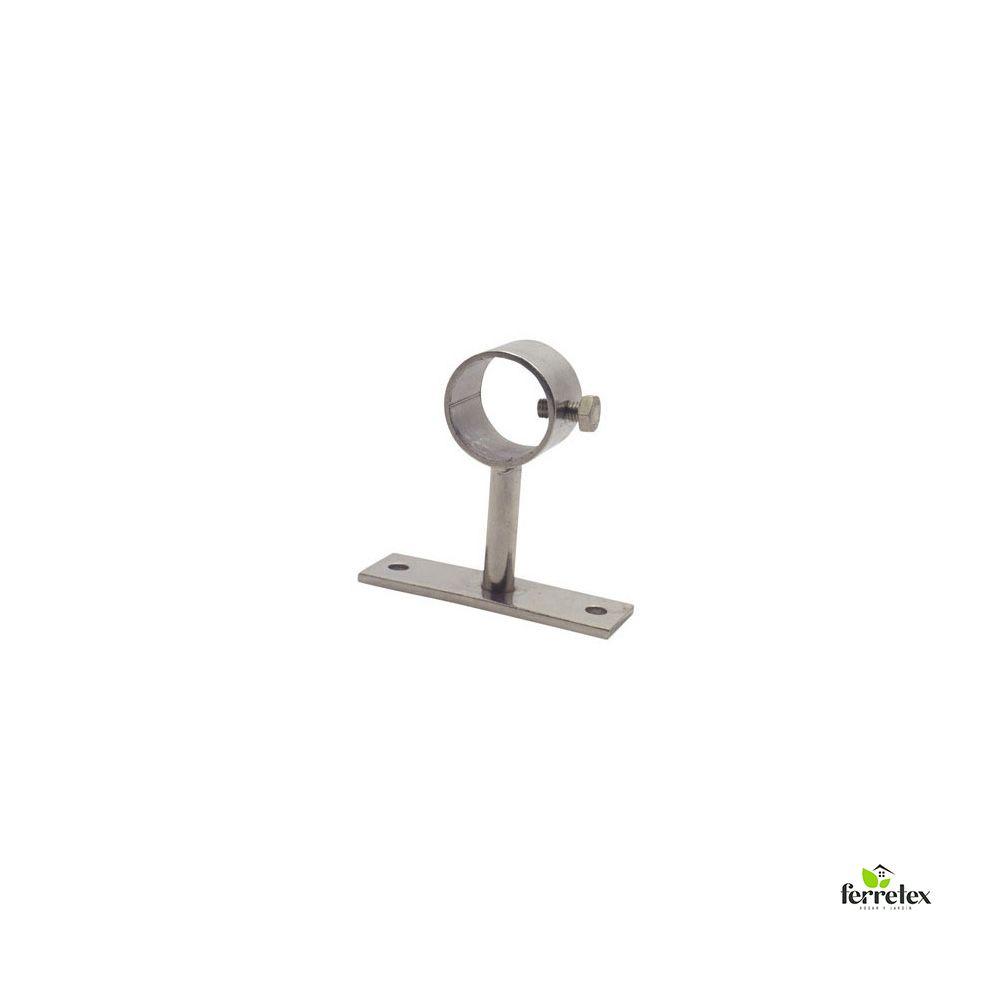 Soporte inox. para tubo desplazado separación 50 mms ref. 15801