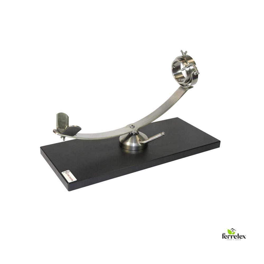 Jamonero giratorio y rotatorio inox. base fibra ref. 17838