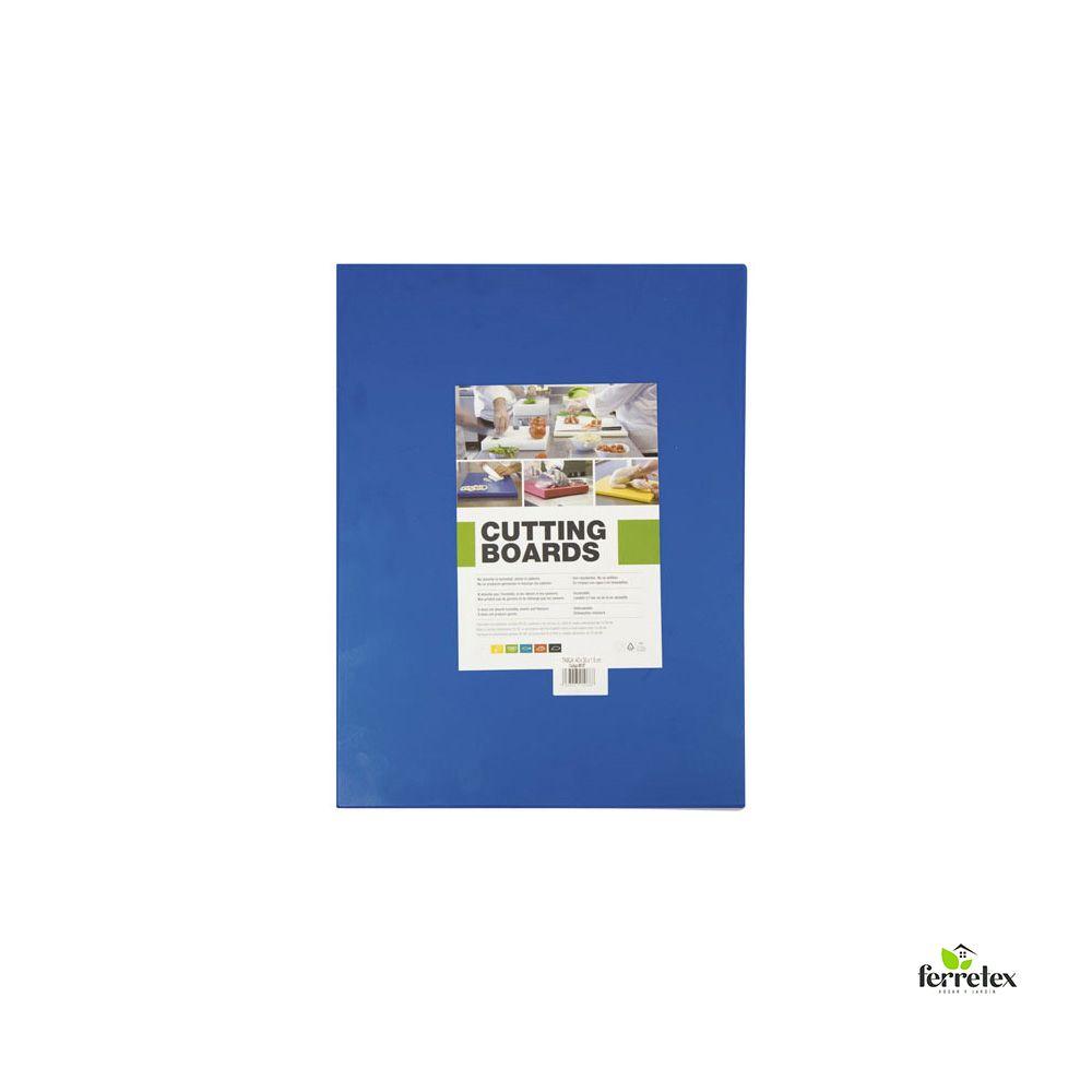 Tabla Plancha Fibra Cocina 400X300X15 Azul ref. 18110