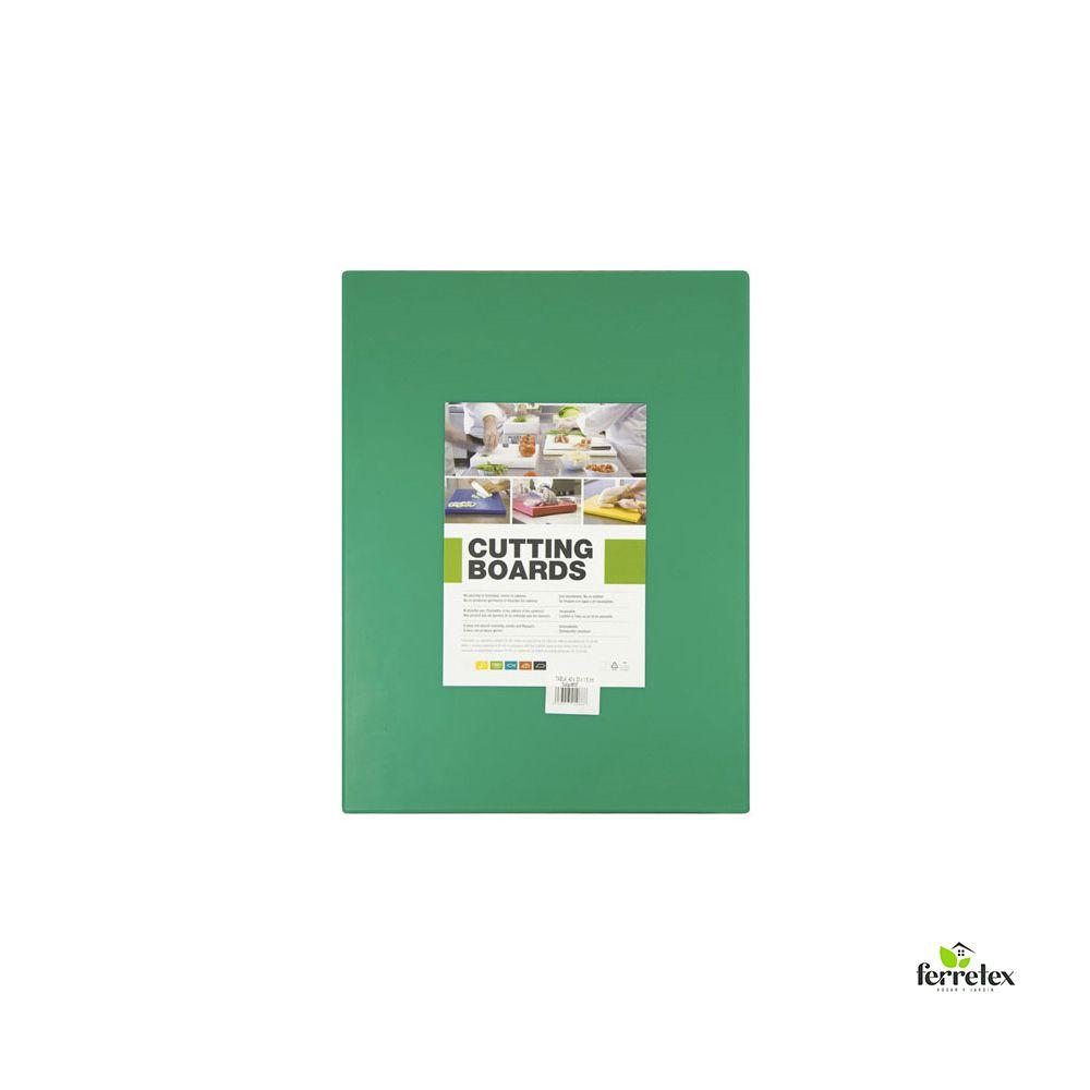 Tabla Plancha Fibra Cocina 400X300X15 Verde ref. 18112