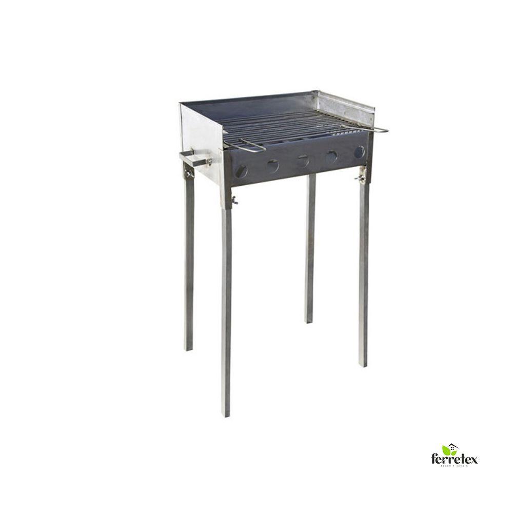 Barbacoa Inox. Doble Altura 500X330 ref33218