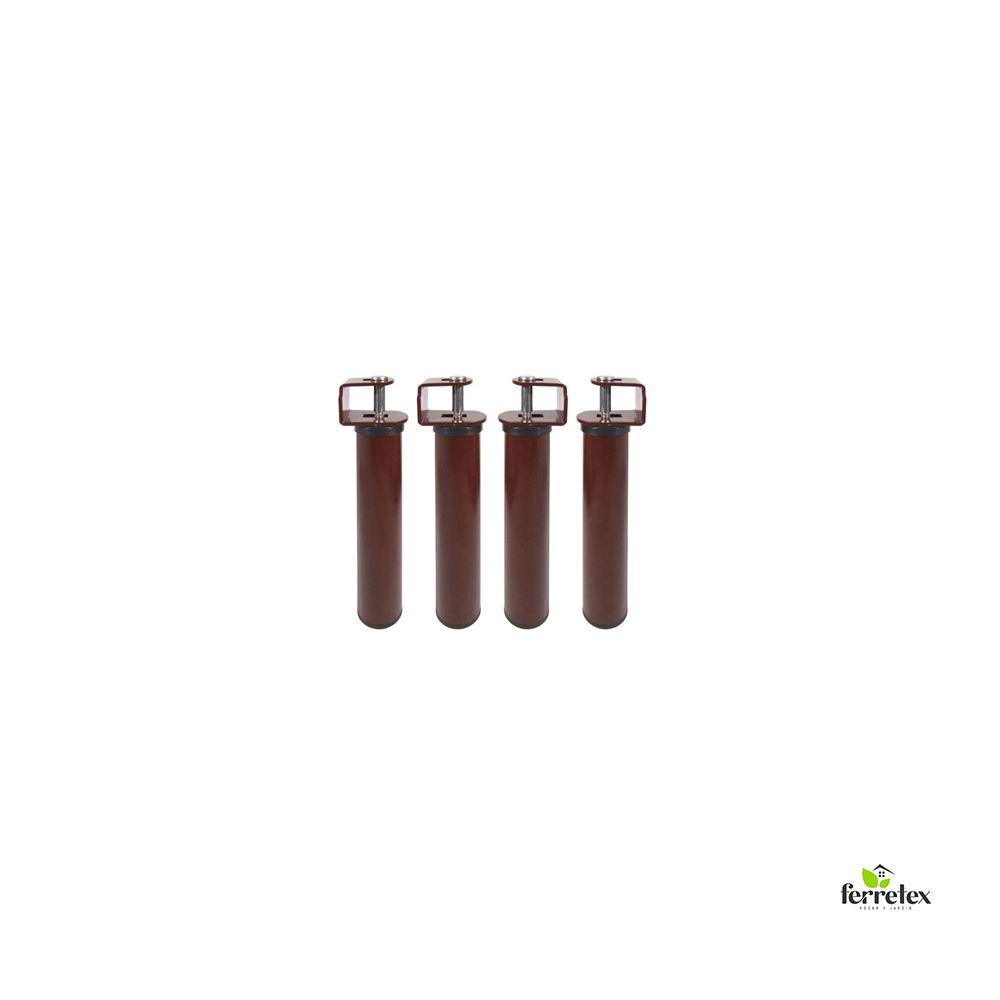 Juego patas somier de alto 250 mms. y tubo de 50 mms. ref. 39010