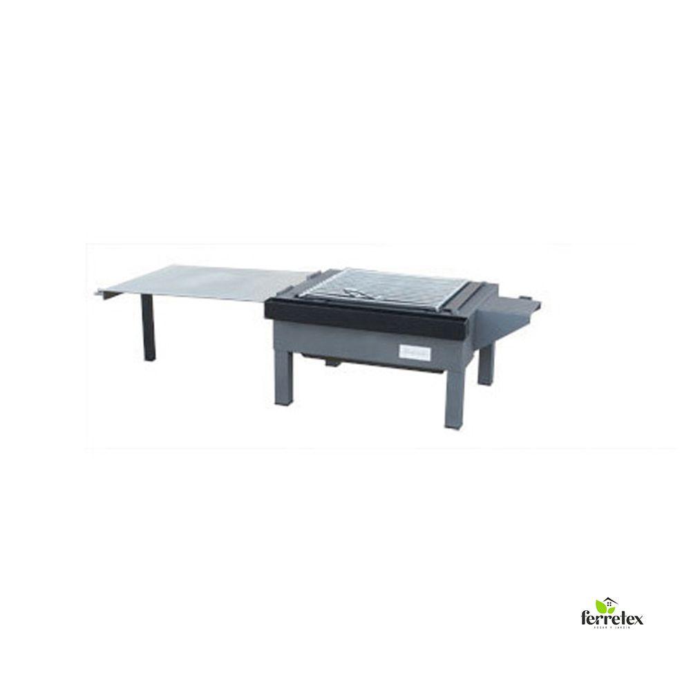 Conjunto plancha paellero grande para mesa ref. 33722