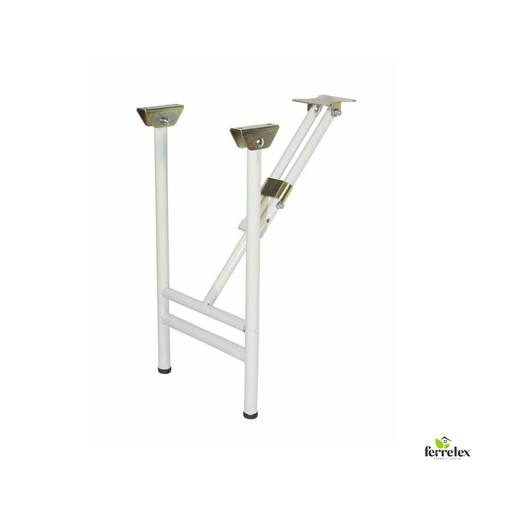 Pata blanca plegable para mesa ref. 39030